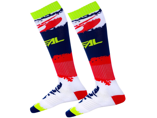O'Neal Pro MX Chaussettes, red/blue